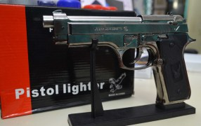 Real Size Pistol Lighter Imported.
