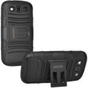 Amzer Hybrid Kickstand Case for Samsung GALAXY S3 Neo GT I9300I, Samsung GALAXY S III GT I9300 - 96683