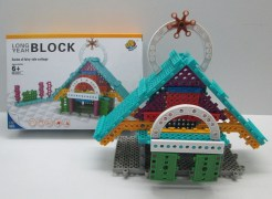 Imported Do-it-Yourself Educational Kit to build Villas/House by small children