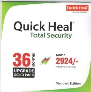 Quick Heal Total Security Renewal (1 User-3 Years)