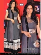 Sridevi Kapoor Bollywood Replica Anarkali Suit by styloshopping