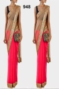 Manequeen Moddeling saree by styloshopping