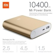 mi 10400mah power bank