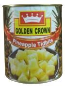 Golden Crown Pineapple Tidbits