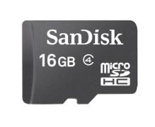 Sandisk Micro SD 16GB MicroSDHC Class 4