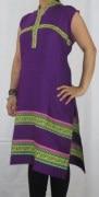 Purple Rayon Kurti