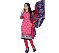 Divya Crepe Printed Salwar Kameez Dress Material (DIVYA4001)