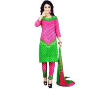 Divya Crepe Printed Salwar Kameez Dress Material (DIVYA4002A)