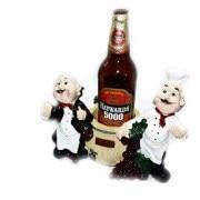 Wooden Bar Attendant Design Liquor Bottle Stand