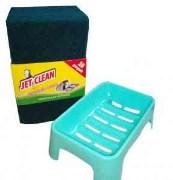 Green Scrub & 1 Soap Case - Set of 10 - GDC3