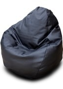 LEATHER FABRIC BEAN BAG
