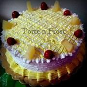 TNF Eggless Pineapple Surprise Cake