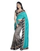 Self Design Bhagalpuri Handloom Art Silk Sari