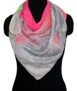 Star print  for women's scarves