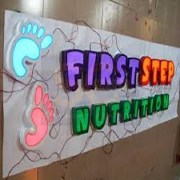 3D Boxup Lettering Sign Boards