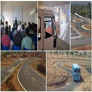 Driving training for heavy vehicles. International licence (IDP)