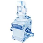 A series Helical-bevel gearmotors