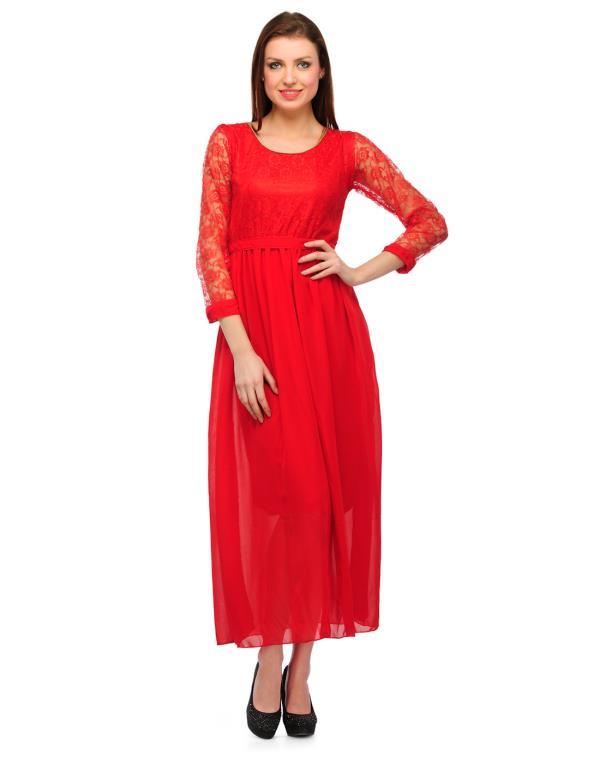 Women's A-line Dress