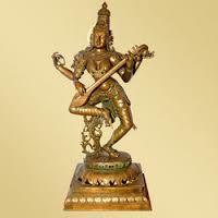 dancing saraswati idol