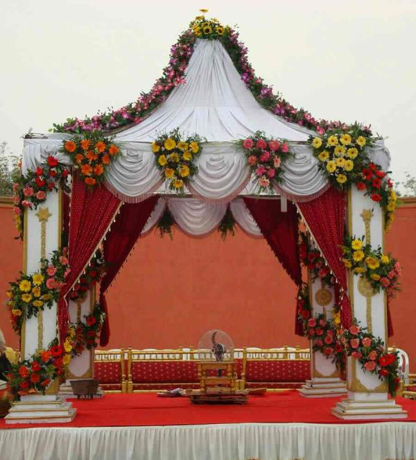 Outdoor Reception Stage Decoration