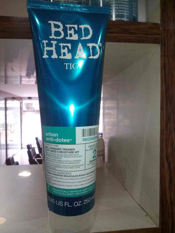 bed head shampoo