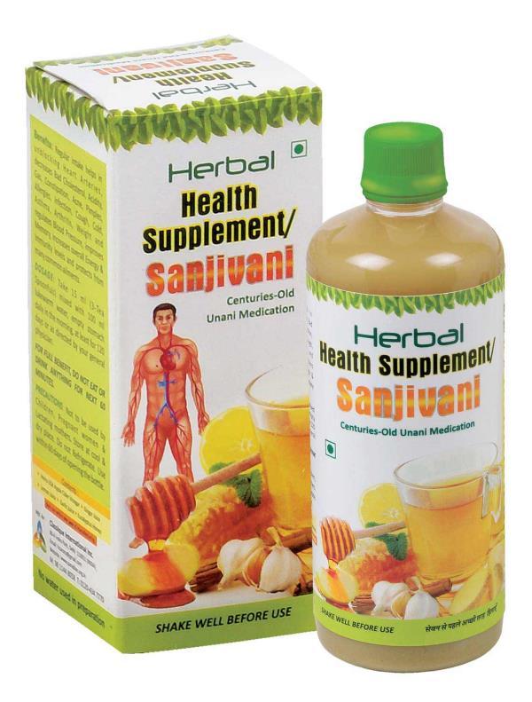 Herbal Health Supplement Sanjivani 550 ML
