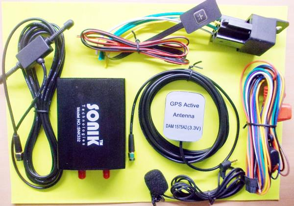 High Quality GPS Tracker With Fuel & AC Monitring