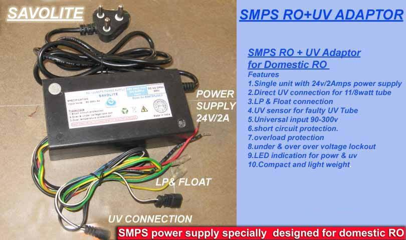 SMPS RO+ UV Power supply