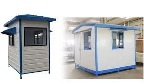 Prefab Security Cabin manufacturer Ahmedabad