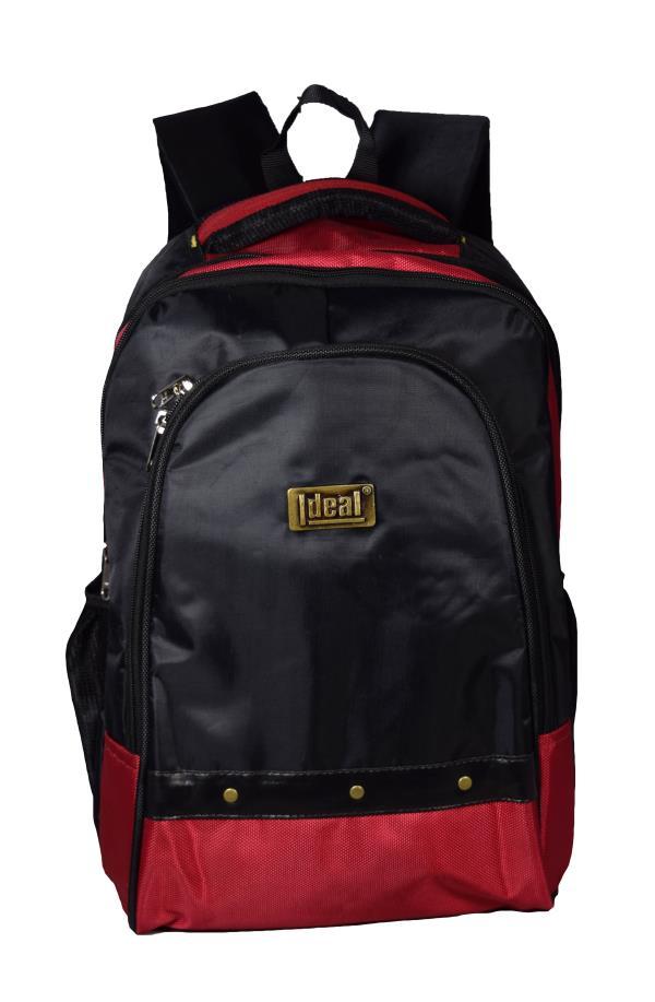 Ideal® Lunar 20 Litres Red and Black Laptop Backpack