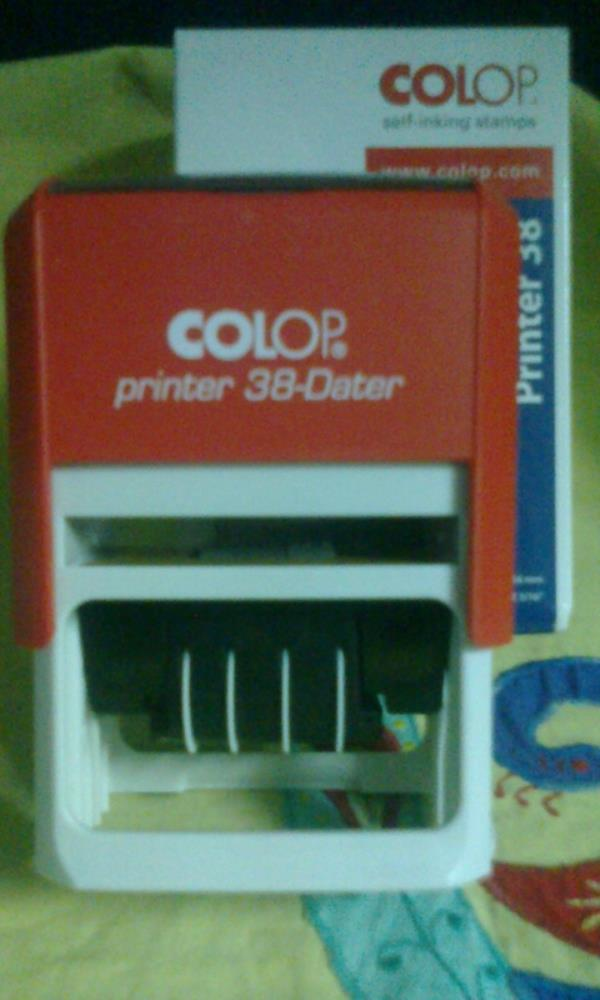COLOP SELF INK DATER STAMP