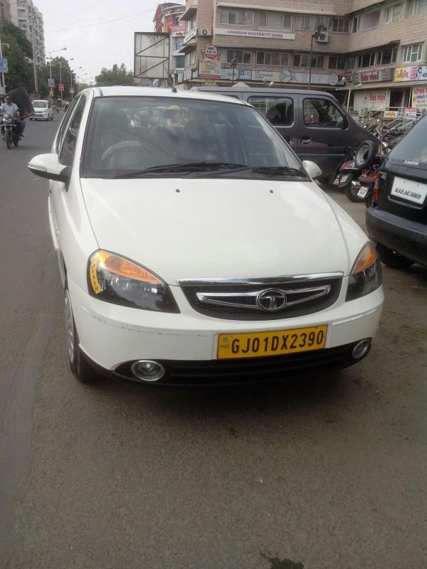 INDIGO ECS car on rent in Ahmedabad