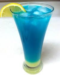 Blue Lemonade Drink