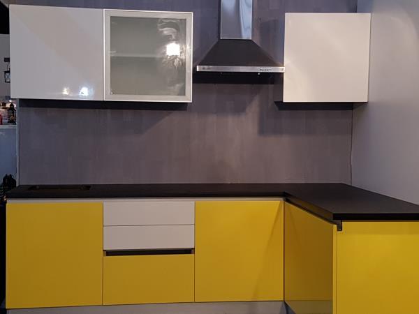 UV coated painted Kitchen