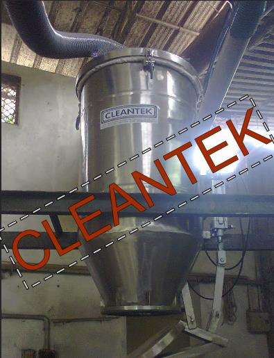 Cleantek manufacturing vacuum conveying systems for seeds, agro products from one place to one place without hassle free design. At present cleantek manufacturing 2 tons per Hour conveying systems.