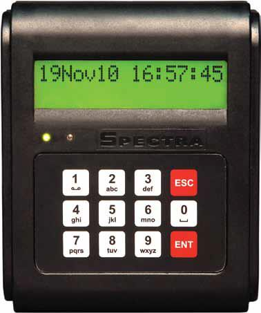 Card Based Time Attendance Recorder