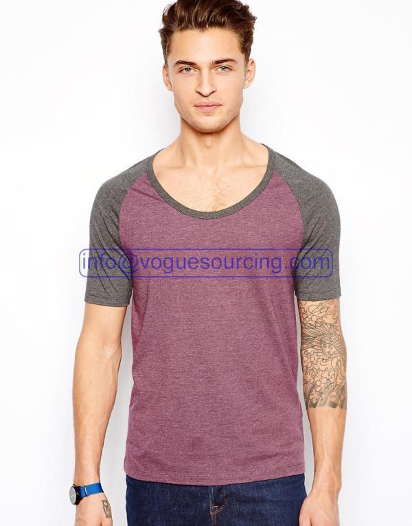 Scoop Neck T Shirt
