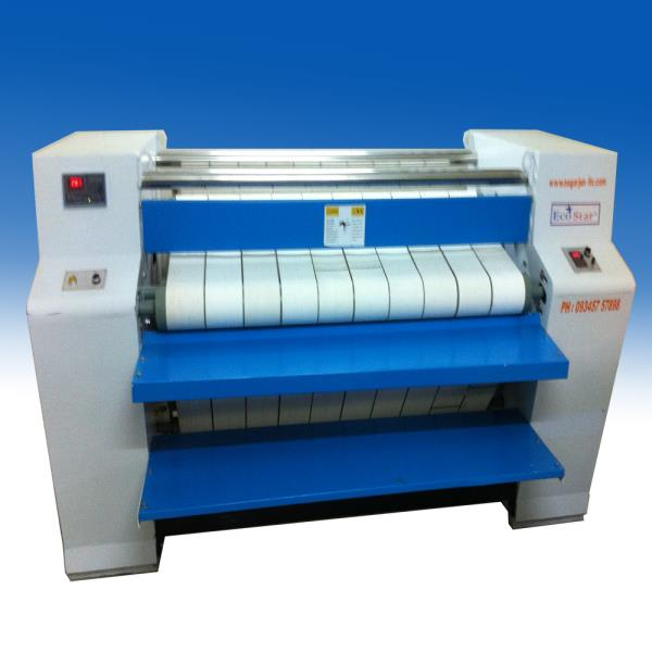 We are engaged in offering a wide range of Commercial Flat Work Ironing Machine. Compact structure saves a lot of space by small covering area. Frequency conversion timing allows convenient adjusting, stable transmission and energy-saving. Heating by adopting stainless steel cylinder presents good effect. The main technical characteristics of industrial irons (roller type): Heating by adopting stainless steel cylinder presents good effect Frequency conversion timing allows convenient adjusting, stable transmission and energy-saving Compact structure saves a lot of space by small covering area Precise transmission, quality running, and long lifespan The transmission belts are national patented products Several types of machines heated by outside connecting steam, gas, and electricity are optional Note: Picture and prices may vary based on models