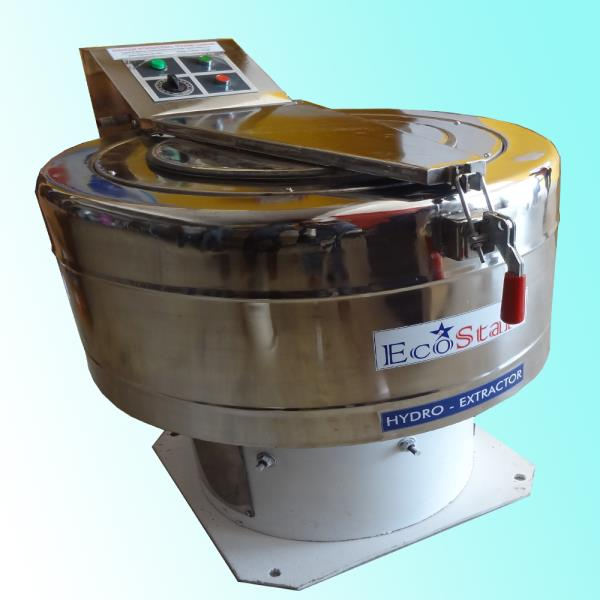 we are offering a commendable range of Hydro Extractor Direct Drive that has solid and reliable equipment functioning, our offered product is designed with precision using best grade raw material by our experts. This product has automatic stoppage of the basket during lifting the top door.   Features:  Sturdy design Low maintenance Smooth performance Model       :     T-15	 Drum diameter x height (mm)	:  f 540 x 240
