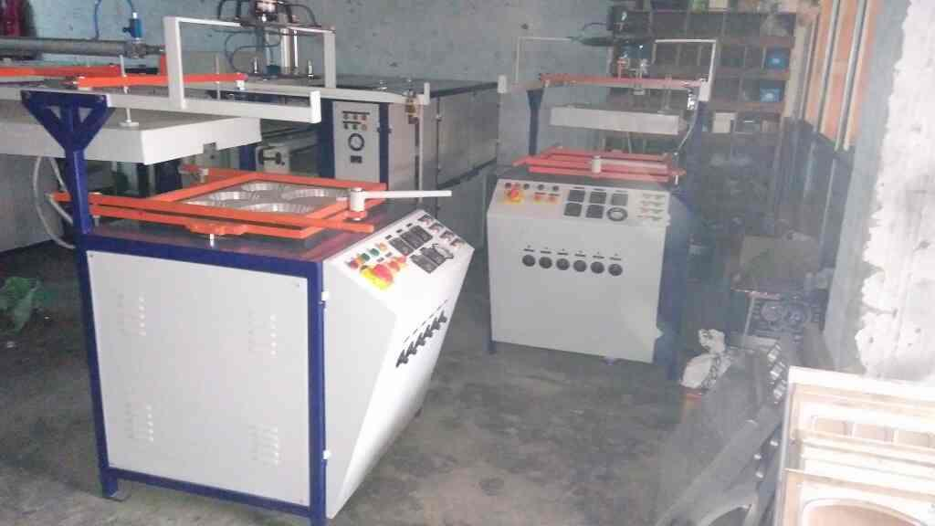 Thermocol plate making machine Delhi