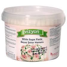 Vizyon White Sugar Paste