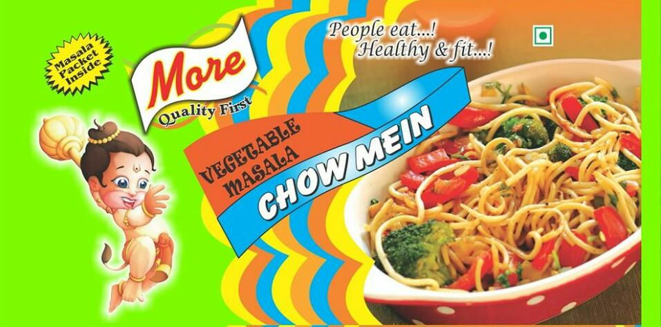 Noodles packaging pouch