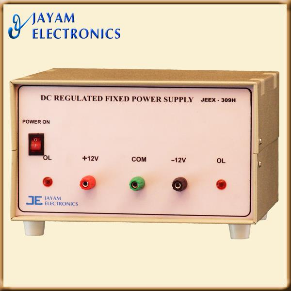 DC REGULATED FIXED OUTPUT POWERSUPPLY
