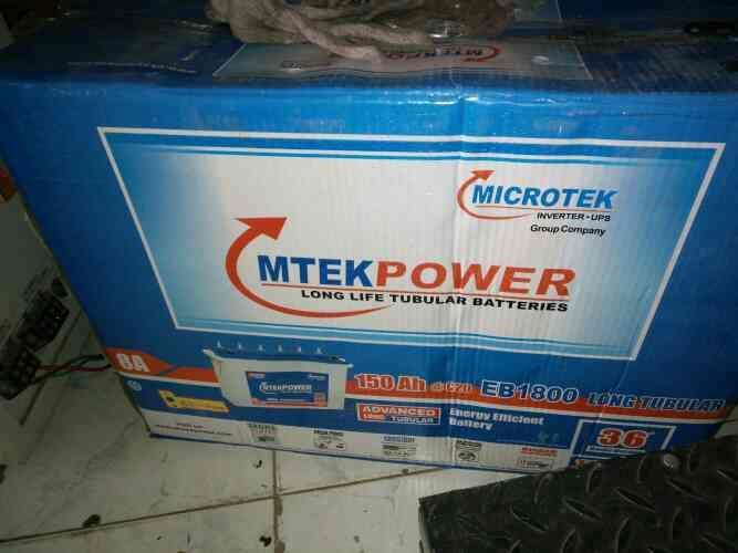Mtek EB1800 150ah Battery