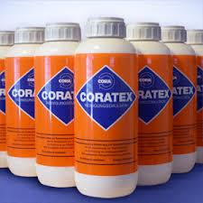 We are leading supplier of  coratex purging Emulsion in Ahmedabad  When changing your molding machine to run a different material and/or switching the color of the mixture, you need a purging compound that will not only remove all traces of the previous mix, including degraded material from the screw and barrel, but accomplish this with as little downtime as possible. CORATEX® liquid purging compound cleans the entire plasticator, mixed with a minimum amount of plasticizing material. It can be used immediately after the molding process to avoid costly delays in production. It will clean not only the pigments and plastic residue from the barrel and screw but, when used without a carrier, is also an excellent polishing medium for removing oxidation from metal.  Coratex purging emulsions are also useful when there is a need to purge out degraded material inside the system. It helps avoid opening of dies for pipe plant, sheet lines, multi layer plants, molding dies, etc. It can be used with any raw material or process.  Coratex is truly a proven product, deemed as one of the top purging emulsion in the world. Coratex has a small amount of abrasive material that helps lift deposits and debris much better than just a chemical or granule solution.  Coratex actually removes burnt and settled deposits from the metal surfaces of your machinery.   CORATEX PURGES  Barrels and screws, nozzles and hot-runner tooling of extruders and injection mol­ding machines under operating conditions   CORATEX ENABLES Fast change of raw material and higher production efficiency  CORATEX ELMINATES Extra stubborn contamination, oxidation traces and coking residues  CORATEX OFFERS Low purging process costs combined with easy handling  CORATEX IS Physiologically harmless when used according to direc­tions.   It is available in liquid form in convenient-to-use 800 ml bottles