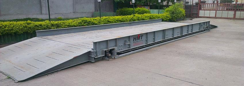 Leading manufacturer, Supplier and Exporter of FOUNDATION LESS TYPE WEIGHBRIDGE.