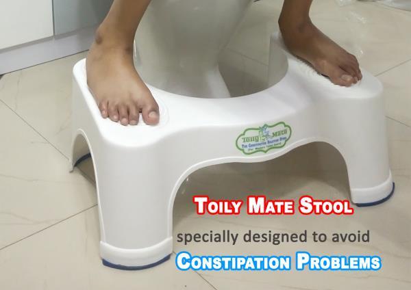 Squatting Toilet For Elders - Toily Mate Toilet Stool