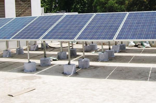 	Solar Panels: Polycrystalline Silicon, 300 Wp - 50 Nos        Efficiency: >15%, IEC Certified, with 5 years warranty, 	Solar Inverter 15 kw: Solar Grid-tied Inverter  with MPPT charging, Efficiency: >95%, IP 65, with 5 years warranty	Module mounting structure: Hot Dip Galvanized    	DC Combiner with MCB, SPD & Fuses	AC DB with MCB & SPD	Cables, Connector & accessories	Earthing GI & Lightening Arrestor	Installation IncludedTerms & Conditions:Price: Ex works – Pune, including supply, installation and  Commissioning of the systemPayment Terms: 50 % Advance, 40 % against material delivery, 10% after installationExpected Average monthly Electricity Units produced by this Plant in Pune is 1800-2000 units Payback period is approx 4-5 yearsRooftop Area required for PV panel installation is 1500-1800 sq ft facing south direction and without shadows between 9 am to 5 pm.