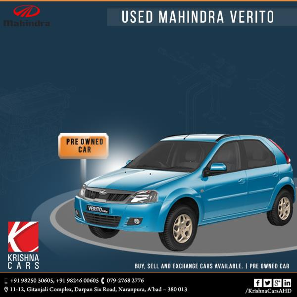 Pre-owned (used) Mahindra Verito Vibe CS car for sale in Ahmedabad