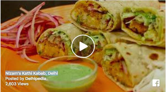 Nizam's Kathi Kabab, Delhi
